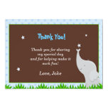 Baby Elephant Thank You Card