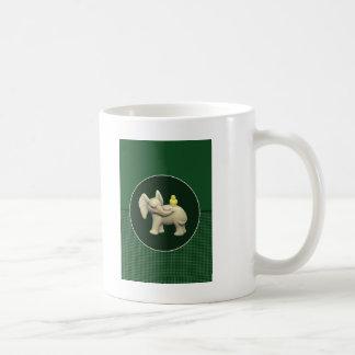 Baby Elephant & Yellow Duck Coffee Mug