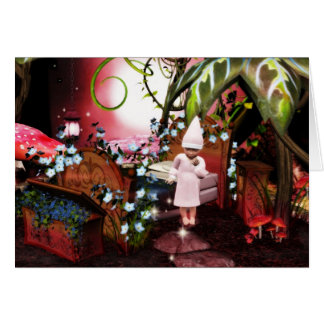 Baby elf night light magic card