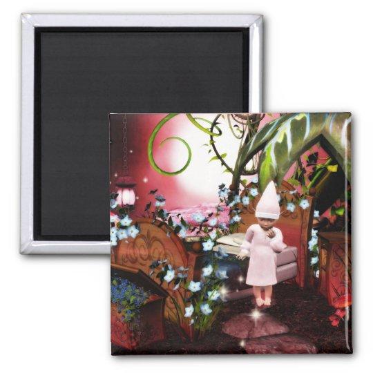 Baby elf night light magic magnet