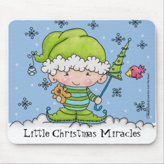 Baby Elf –Personalized !st  Christmas Mouse Pad