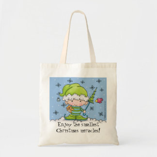 Baby Elf –Personalized !st  Christmas Tote Bag