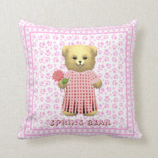 Baby Ella Bear's Bedtime cushion Pillows