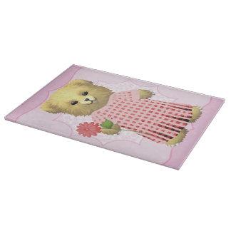 Baby Ella Bear's Cutting Board