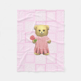 Baby Ella Bear's Fleece Blanket