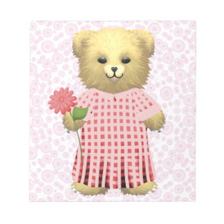 Baby Ella Bear's Scratch Pad