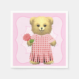 Baby Ella Bear's Paper Napkin