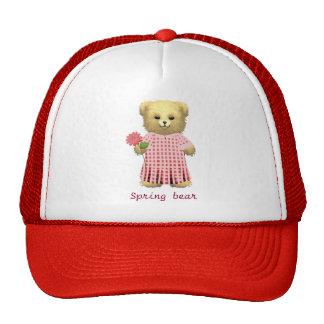 Baby Ella Bear's Spring bear Trucker Hat