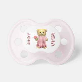 Baby Ella Bear's Spring bear BooginHead Pacifier