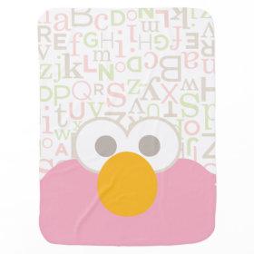 Baby Elmo Face Stroller Blankets