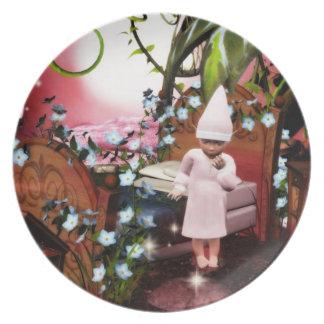 Baby Elvin magic night plate