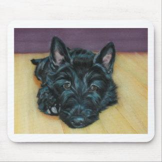 'Baby Em' - Scottie puppy Mouse Pad