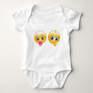baby emojis baby bodysuit