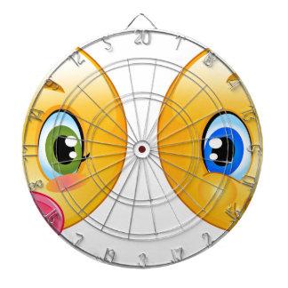 baby emojis dart board