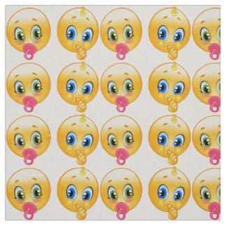 baby emojis fabric