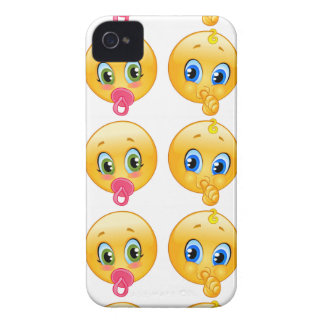 baby emojis iPhone 4 cover