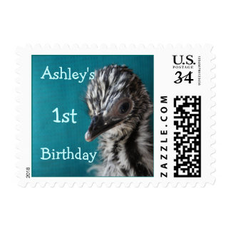Baby Emu Chjick Stamp- customize Postage