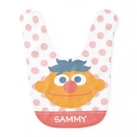 Baby Ernie Face Baby Bibs