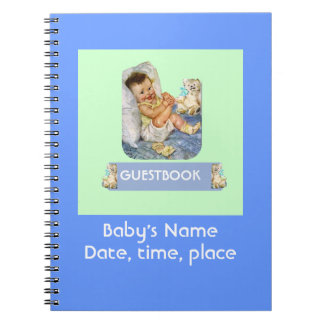 Baby Event Guestbook Notebook