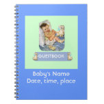 Baby Event Guestbook Spiral Note Books