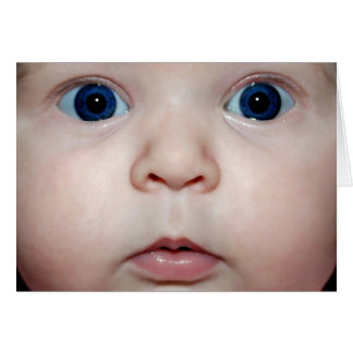 Baby eyes cards