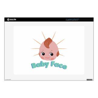 """Baby Face 15"""" Laptop Skins"""