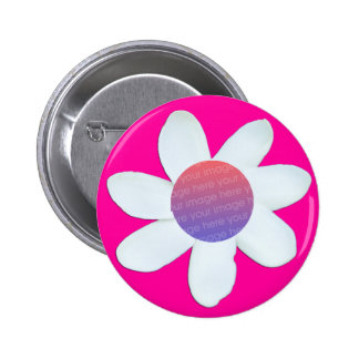 Baby Face Flower Button