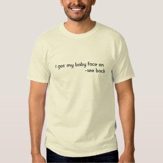 baby, face, funny, jokes, kids, humor, t shirts