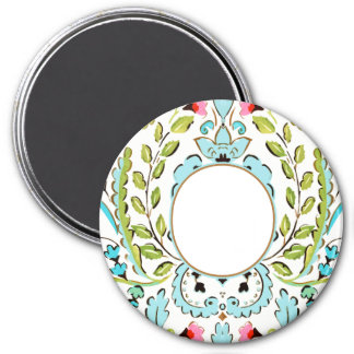"""""""Baby Face"""" Oliver 3 Inch Round Magnet"""