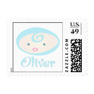 """""""Baby Face"""" Oliver Postage Stamps"""