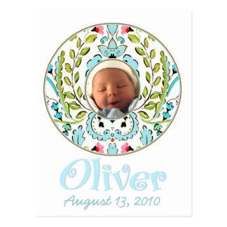 """Baby Face"" Oliver Postcard"