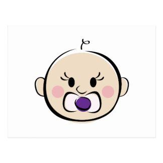 Baby Face Postcard