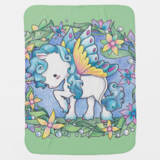 Baby Faerie Unicorn Blanket