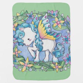 Baby Faerie Unicorn Blanket Swaddle Blankets