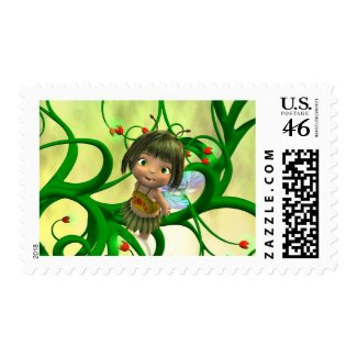 Baby Fairy stamp