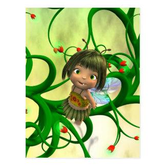 Baby Fairy Postcard