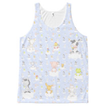 Baby Farm Animals All-Over-Print Tank Top