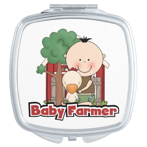 Baby Farmer With Duck Vanity Mirrors