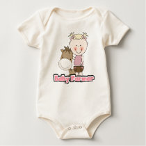 Baby Farmer With Horse Tshirts and Gifts