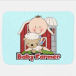 Baby Farmer With Sheep Swaddle Blankets