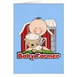 Baby Farmer With Sheep Tshirts and Gifts Card