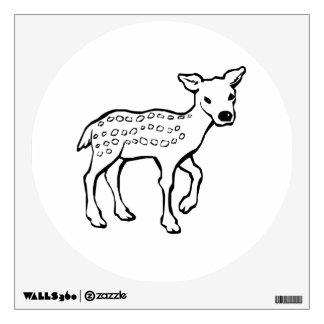 Baby Fawn Deer Wall Skins
