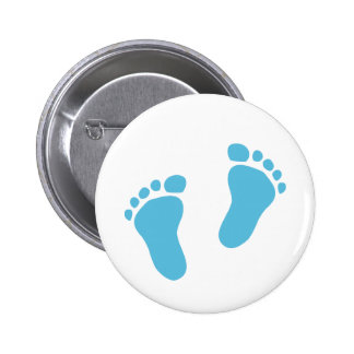 Baby feet 2 inch round button