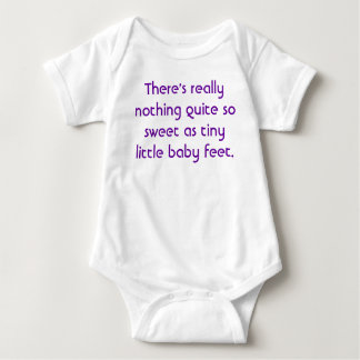 Baby Feet Baby Bodysuit