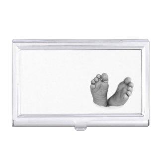 Baby Feet Business Card Holder