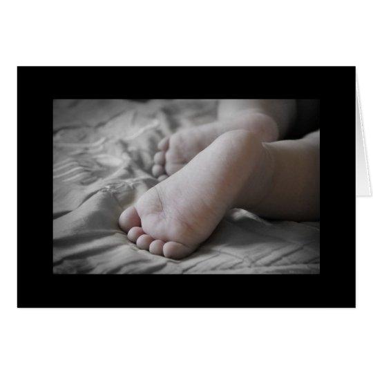 Baby Feet Card