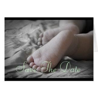 Baby Feet Greeting Card