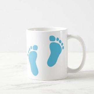 Baby feet classic white coffee mug