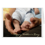Baby Feet Greeting Cards