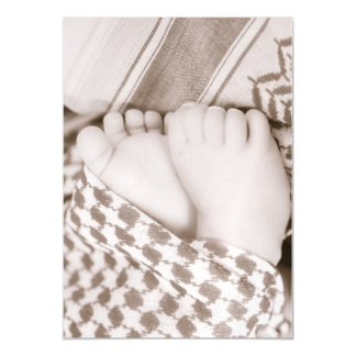Baby Feet in Shumagh card magnet